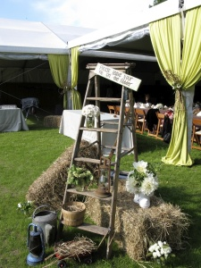 JTD Productions Catskills Wedding Event Setup