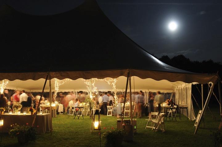 JTD Productions Hudson Valley Weddings Outdoors Night
