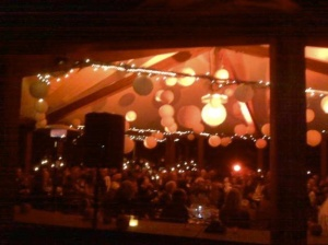 JTD Productions Night Wedding Outdoors