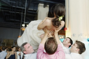 JTD Productions Weddings Crowdsurfing