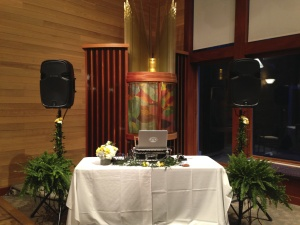 JTD Productions DJ Equipment Setup