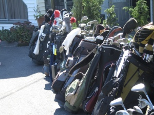 JTD Productions Annual Golf Tournament Gold Clubs