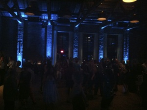 JTD Productions Large Hall Event Uplighting Blue